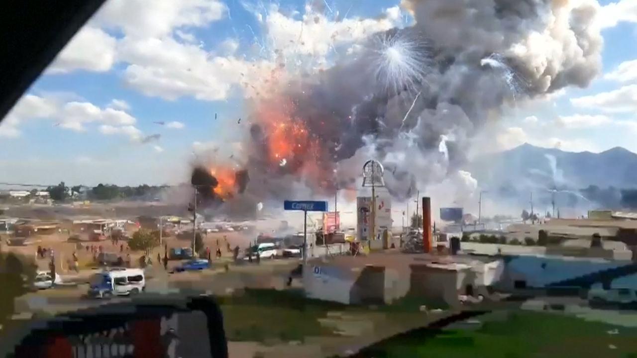 31 doden en meerdere gewonden bij vuurwerkexplosie Mexico