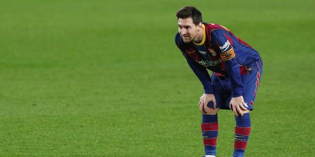 Messi voelt zich weer goed bij Barcelona: 'Heb alle zorgen achter me gelaten'