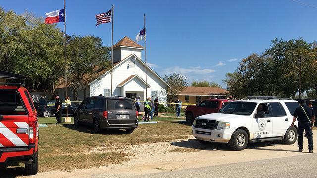 Zeker 26 doden bij schietpartij in kerk Amerikaanse staat Texas