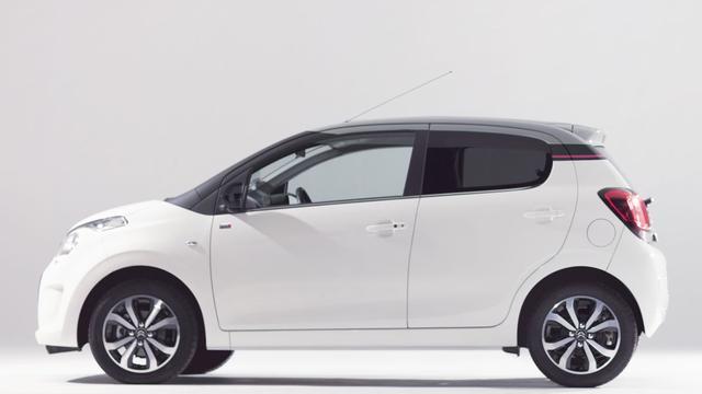 Technische update voor Citroën C1