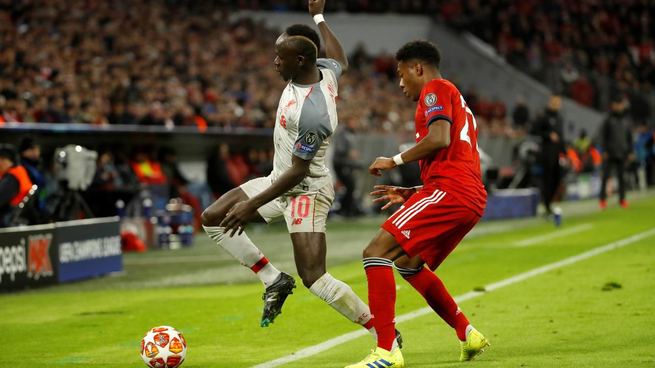 Mané maakt openingstreffer voor Liverpool tegen Bayern
