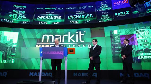 Onderzoeksbureaus Markit en IHS gaan fuseren