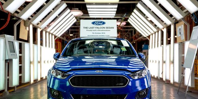 Ford stopt autoproductie in Australië