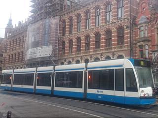 Geen trams en treinen in en rond Amsterdam