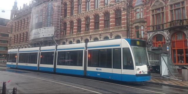 Veel vertraging bij bussen en trams vanwege tekort personeel GVB