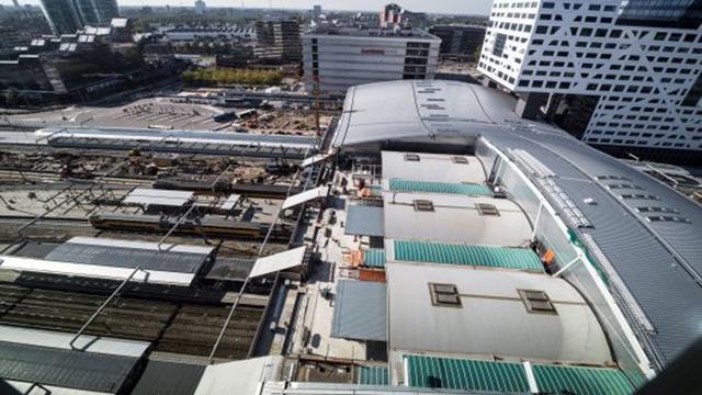 Het dak op Utrecht Centraal is klaar
