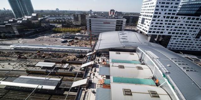 Tijdelijk extra stalling voor fietsen bij Utrecht Centraal