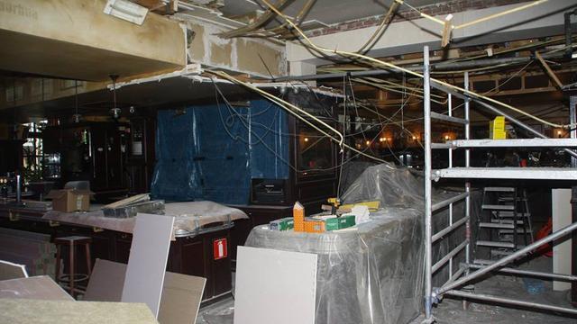 Café Bruxelles nog twee weken dicht vanwege lekkage
