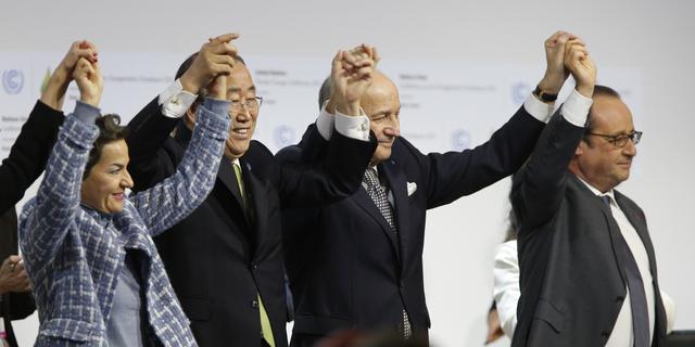 195 landen stemmen in met wereldwijd klimaatverdrag Parijs