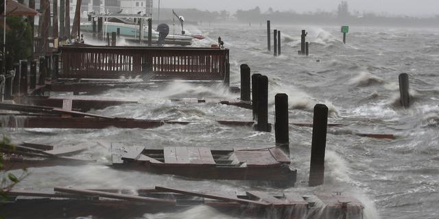 Vier doden in Florida door orkaan Matthew
