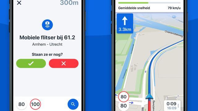 Flitsmeister-app voegt navigatiefunctie toe
