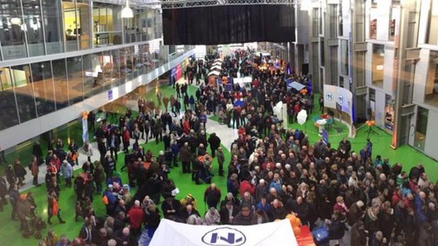 Pand RTV-Noord overvol tijdens open dag