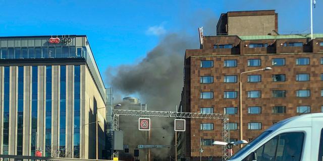 Bus explodeert in centrum van Zweedse hoofdstad Stockholm