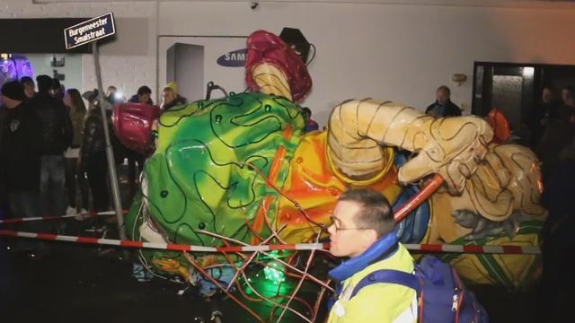 Gewonden door ongeval met praalwagen tijdens carnavalsoptocht Tubbergen.