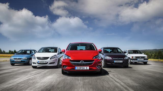 Nieuwe Opel Corsa komt in 2019