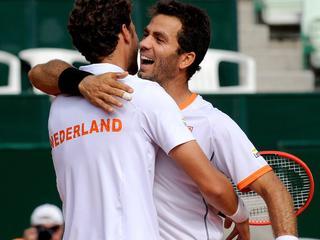 Haase en Rojer in drie sets te sterk voor Melzer en Marach in Davis Cup