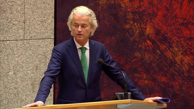 Wilders: 'Motie van wantrouwen is zeer principieel'