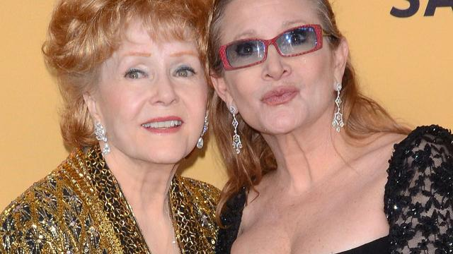 Herdenking Carrie Fisher en Debbie Reynolds in maart