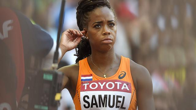 Amsterdamse sprintster Jamile Samuel laat 100 meter schieten