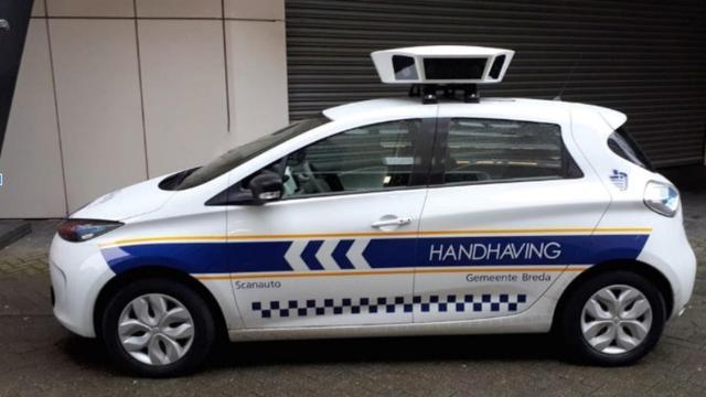 Scanauto's rijden vanaf maandag dagelijks door wijken van Breda