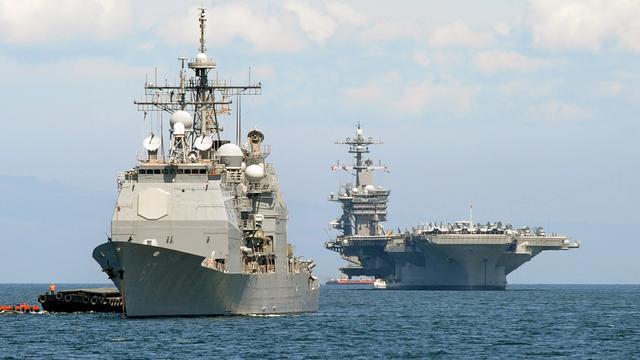 VS stuurt marineschepen naar Koreaans schiereiland