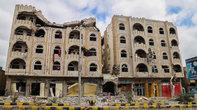 Veel meer doden dan gedacht door aanval op markt Jemen