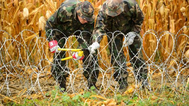 Hongarije sluit vrijdagavond grens met Kroatië