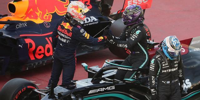 Verstappen tevreden over miniem verschil met Mercedes in kwalificatie