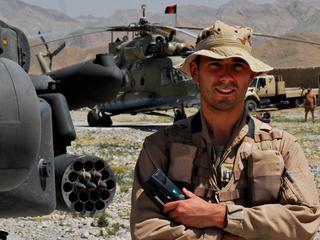 De Ruiter diende zes keer in Afghanistan