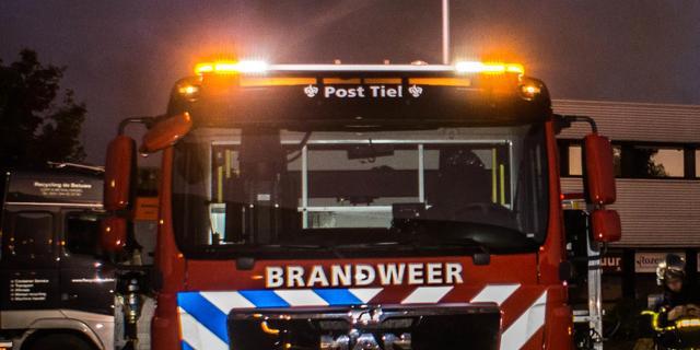 Schoorsteenbrand in woning bij Mercatorplein