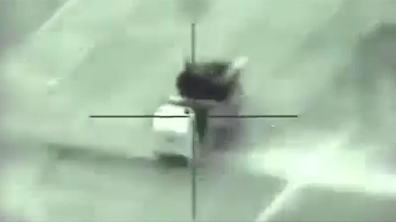 Israël deelt beelden van aanval op Syrisch luchtafweersysteem