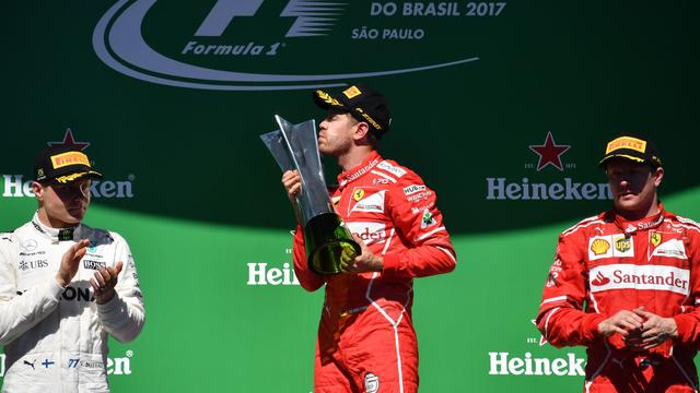 Overzicht: Uitslag Grand Prix Brazilië en WK-standen