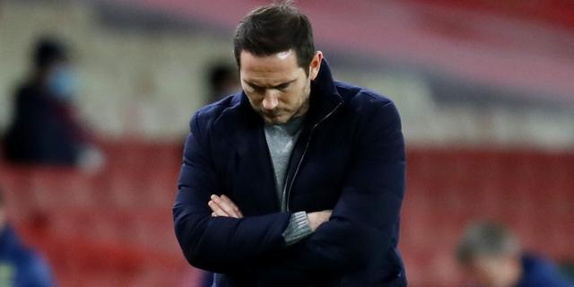 Woedende Lampard verwijt spelers Chelsea gebrek aan werklust na verlies