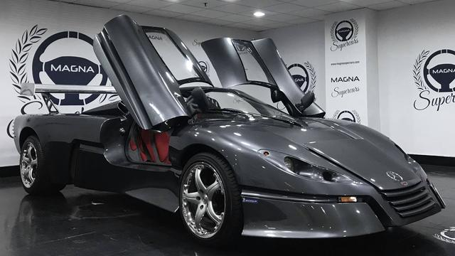 Unieke Sbarro-auto op basis van zeer zeldzame Mercedes te koop