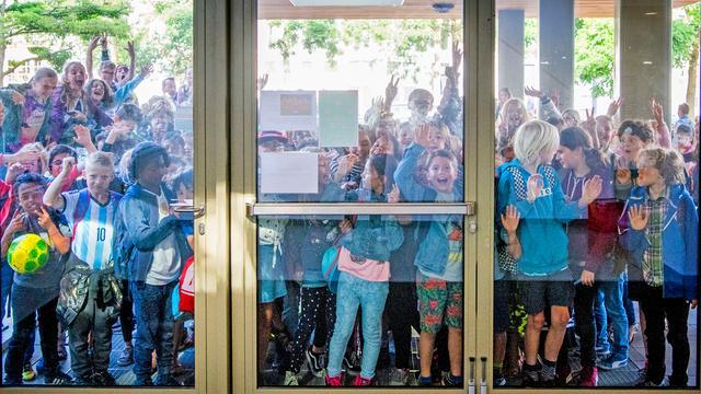 Basisschoolleraren voeren uur actie tegen hoge werkdruk