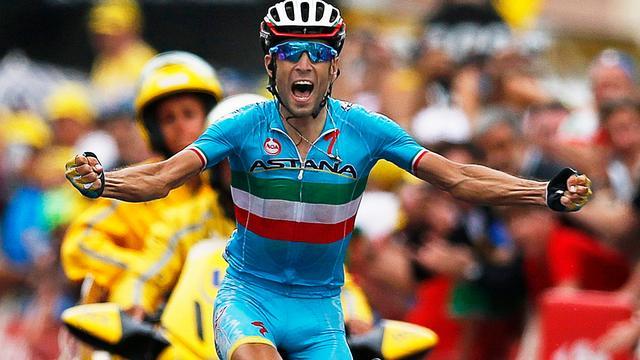 Nibali zegeviert in derde Alpenetappe Tour de France
