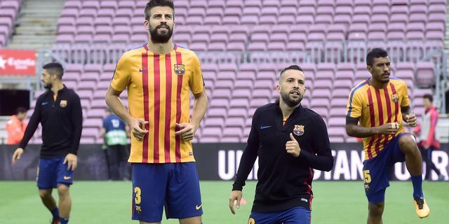 Piqué bedankt wellicht voor Spanje vanwege standpunt over Catalonië