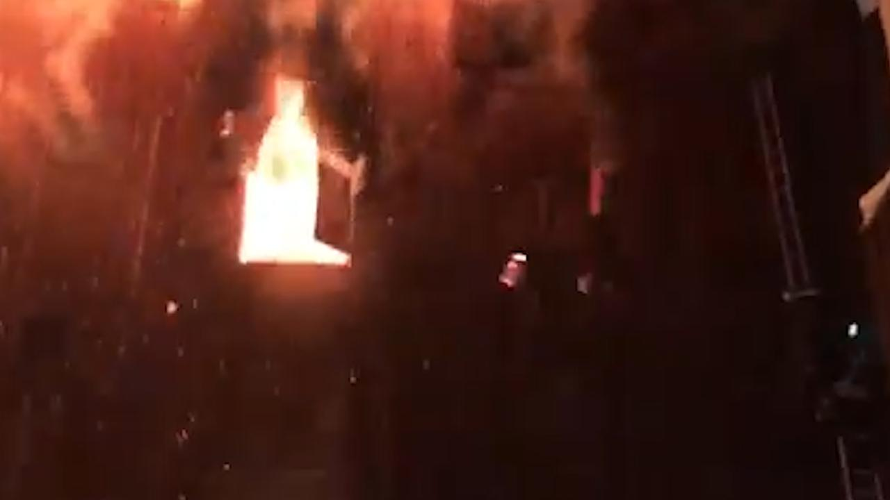 Man springt uit raam bij brand in Franse Courchevel