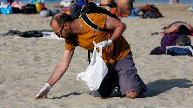 Dubbel zoveel zwerfvuil opgeruimd tijdens World Cleanup Day in Nederland