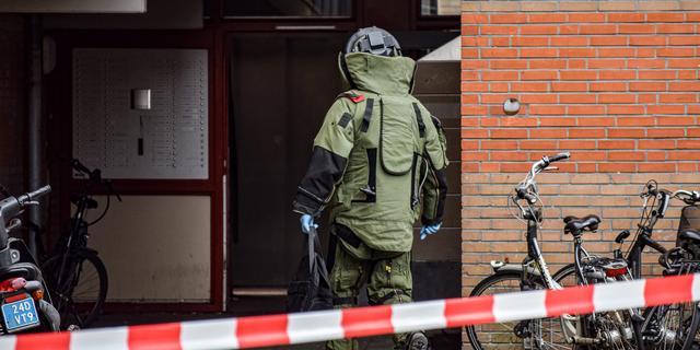 Gevonden granaat bij IJzerweg tot ontploffing gebracht door EOD