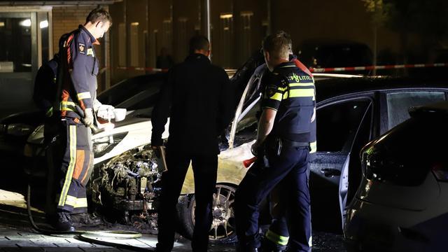 Gouda opnieuw opgeschrikt door autobrand, 25e voertuig vat vlam