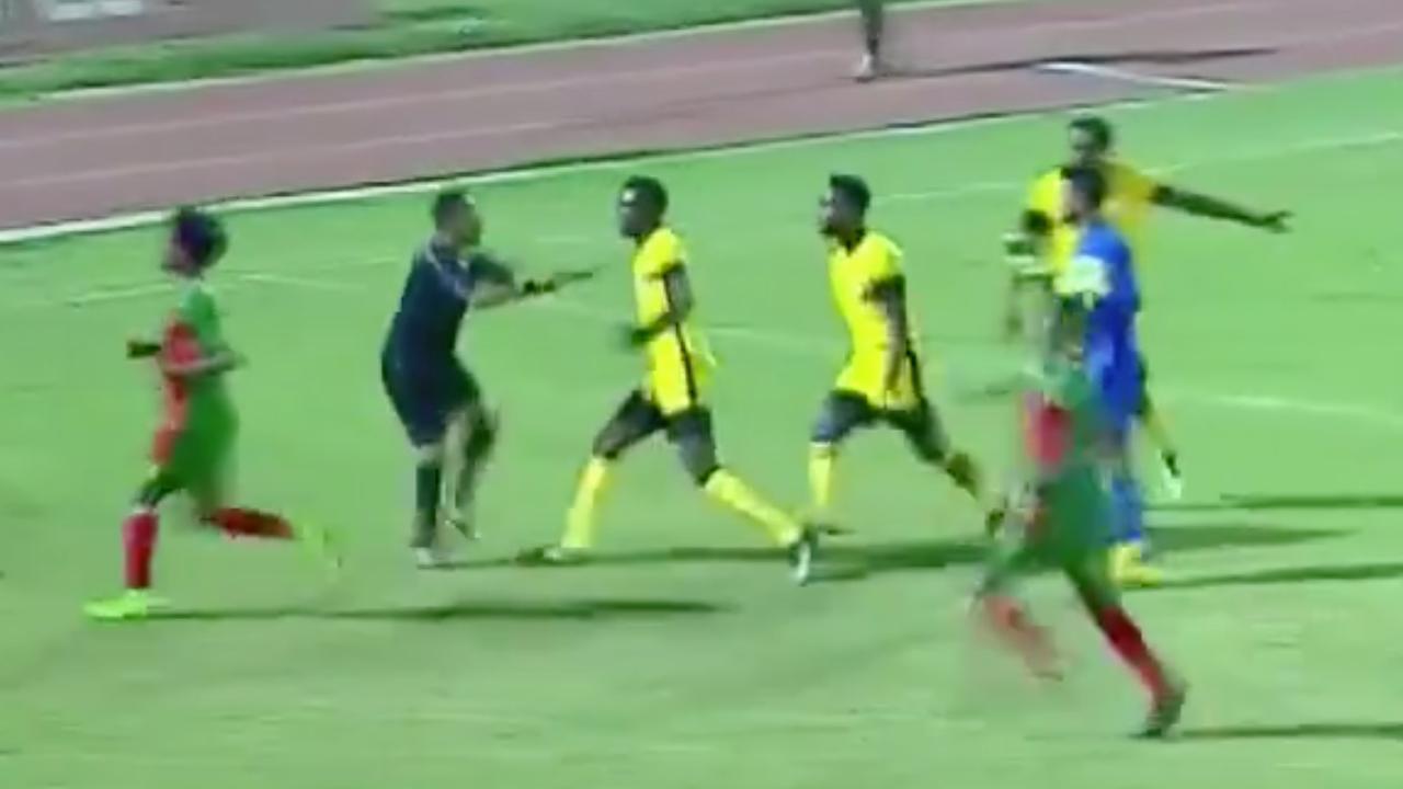Scheidsrechter aangevallen door spelers in Ethiopië