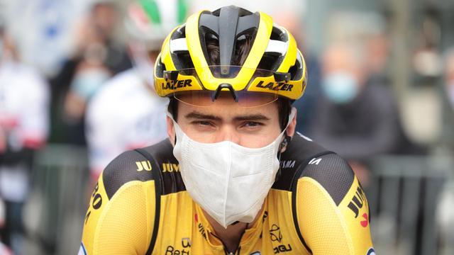 Dumoulin baalt van tijdverlies in Vuelta: 'Ben gewoon een beetje moe'