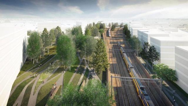 5Tracks Breda mag gebied tussen station en rechtbank ontwikkelen