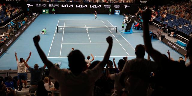 Australian Open verder zonder fans vanwege nieuwe lockdown in Melbourne