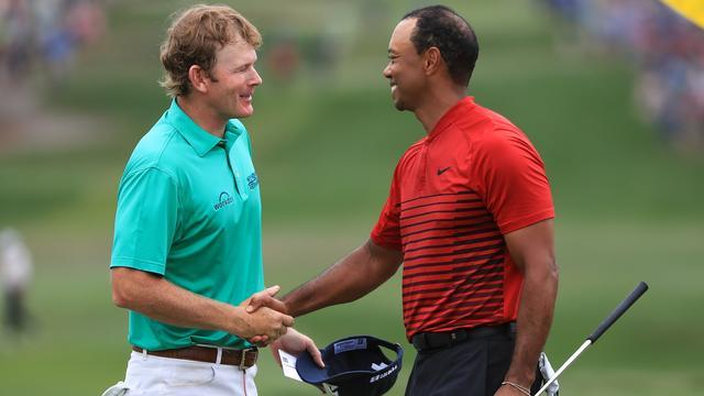 Woods komt net tekort voor eerste toernooizege sinds 2013