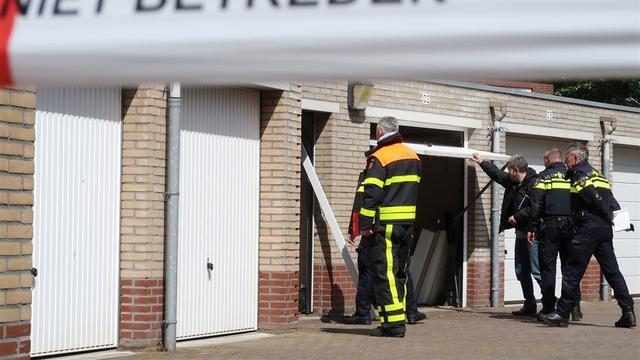 2.000 kilo drugsgrondstoffen aangetroffen in garagebox in Breda