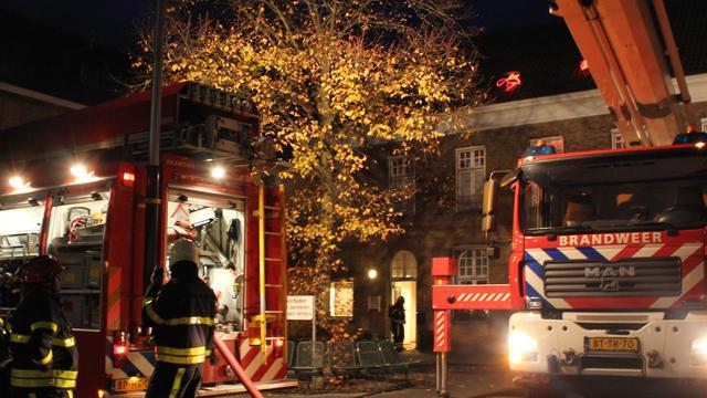 Brandweer Wouw oefent in de Rotselaer