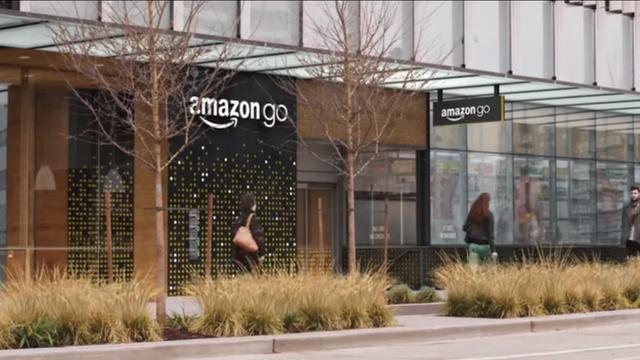 Amazon opent volgend jaar slimme supermarkt zonder kassa's