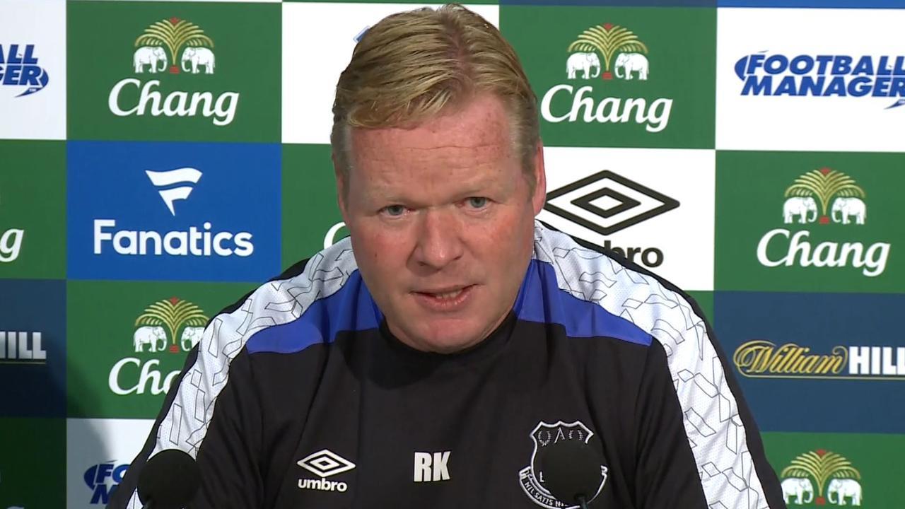 Koeman roemt spelersgroep Everton